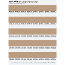 Pantone Lighting Indicator Stickers - LNDS-1PK-D50