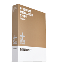 Wzornik PANTONE Plus Series Premium Metallic Chips Coated