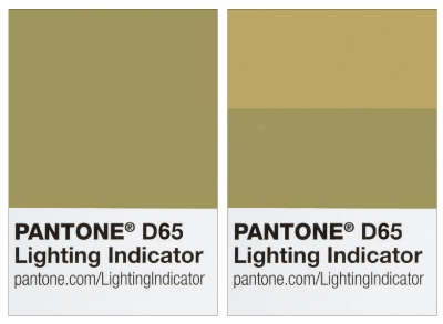 Pantone Lighting Indicator Stickers - LNDS-1PK-D65