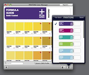 Oprogramowanie PANTONE COLOR MANAGER, program Pantone Color Manager, wzorniki próbniki kolorów Pantone Wrocław