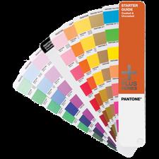 Wzornik Próbnik Startowy PANTONE Plus Starter Guide Solid Coated and Uncoated (powlekane i niepowlekane)