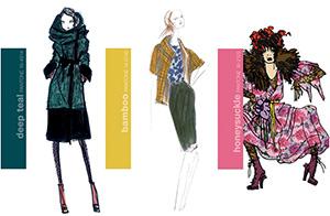 Wzorniki Pantone Fashion and Home dla branży tekstylnej