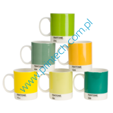 Zestaw kubków Pantone Mugs - Mixed Yellows and Greens
