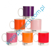 Zestaw kubków Pantone Mugs - Mixed Reds and Pinks